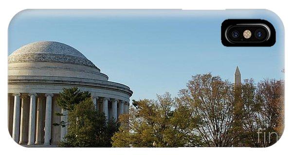 iPhone Case - Jefferson Memorial by Megan Cohen