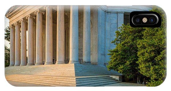 Jefferson Memorial Panorama IPhone Case