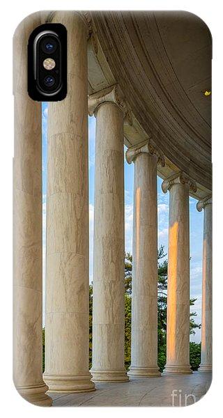 Jefferson Memorial Pillars IPhone Case