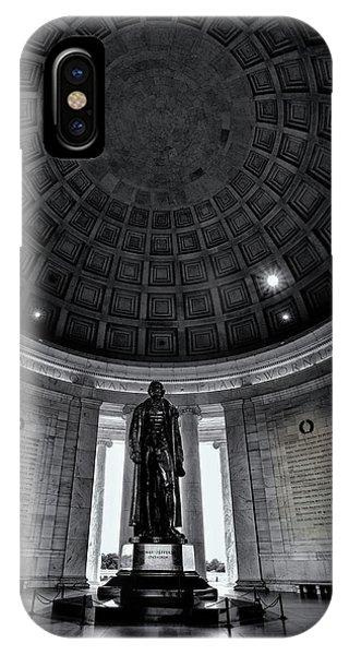 Jefferson Statue In The Memorial IPhone Case