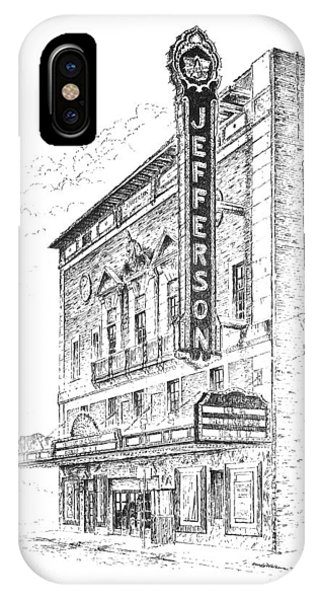 Jefferson Theatre IPhone Case