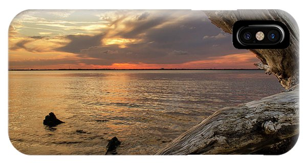 Jekyll Driftwood At Sunset IPhone Case