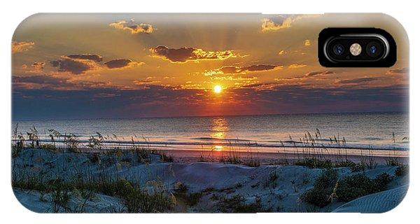 Jekyll Island Sunrise IPhone Case