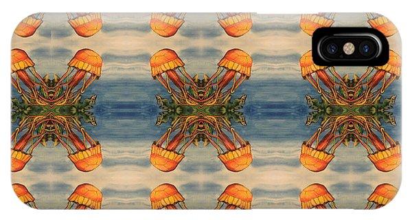Jellyfish Pattern IPhone Case