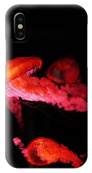 IPhone Case featuring the photograph Jellyfish by W And F Kreations