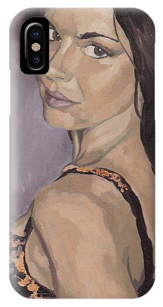 Jenny In Black IPhone Case