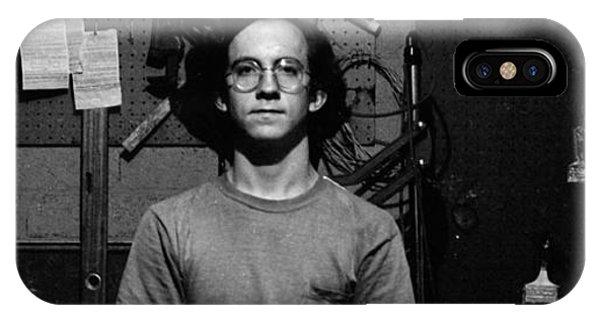 Self Portrait, In Darkroom, 1972 IPhone Case