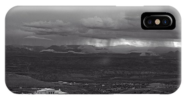 Jerome State Park With Sedona Storm IPhone Case