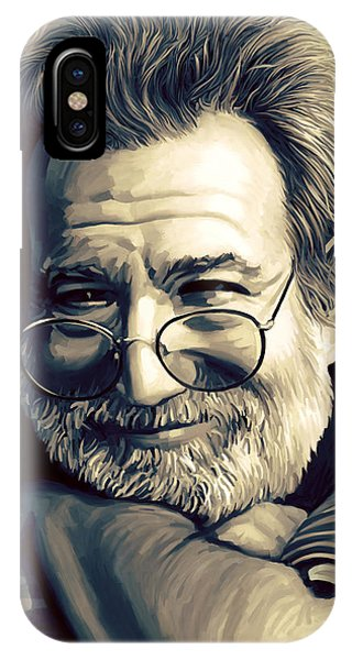 Jerry Garcia Artwork  IPhone Case