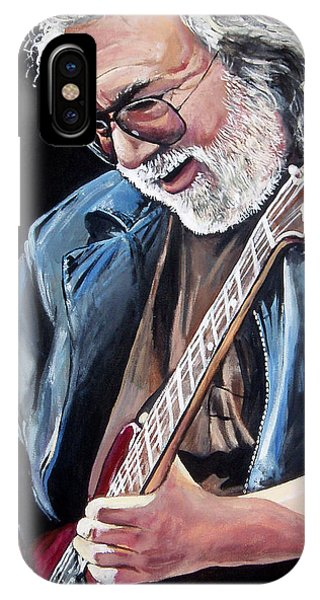 Jerry Garcia - The Grateful Dead IPhone Case