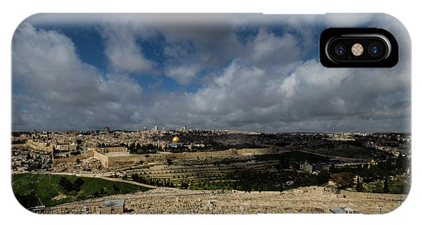 iPhone Case - Jerusalem From Mount Of Olives by Steven Richman