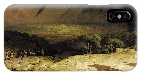 Christian Cross iPhone Case - Jerusalem by Jean Leon Gerome