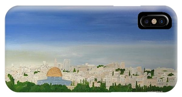 Jerusalem Skyline IPhone Case