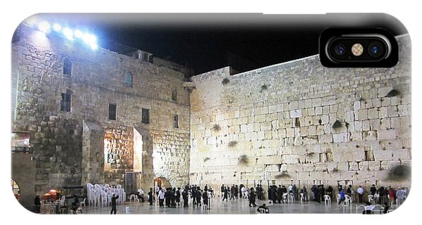 Jerusalem Western Wall - Our Heritage Now And Forever IPhone Case