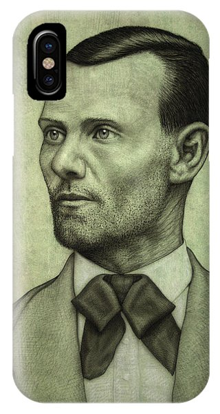 James iPhone Case - Jesse James by James W Johnson