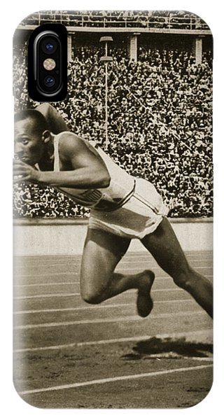 Jesse Owens IPhone Case