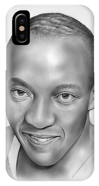 Track iPhone Case - Jesse Owens by Greg Joens