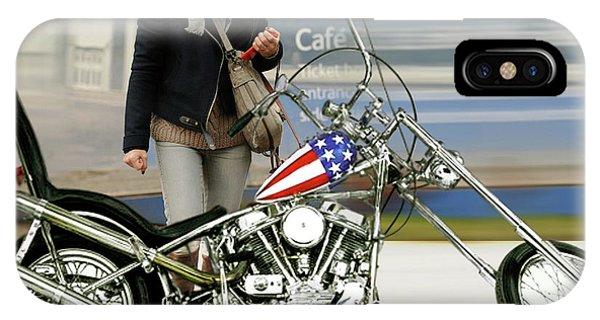 Jessica Alba, Captain America, Easy Rider IPhone Case