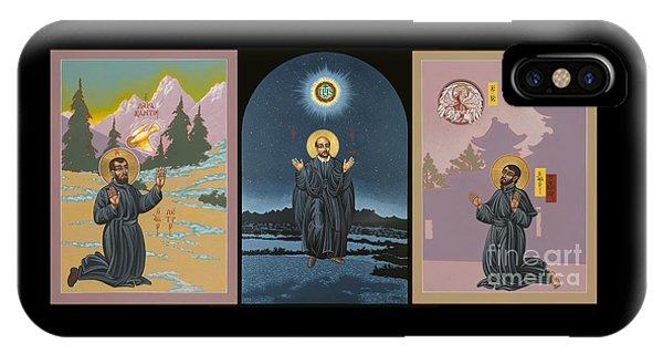 Jesuit Triptych-st Peter Faber-st Ignatius-st Francis Xavier IPhone Case