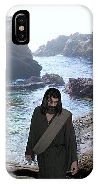Jesus Christ- Be Not Dismayed For I Am Your God IPhone Case