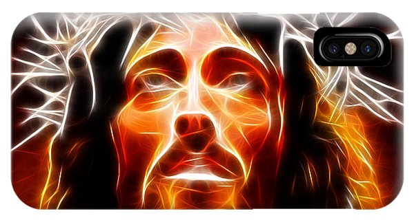 Spirituality iPhone Case - Jesus Christ Our Savior by Pamela Johnson