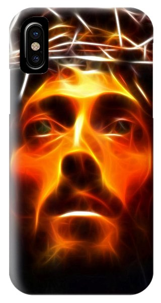 Spirituality iPhone Case - Jesus Christ The Savior by Pamela Johnson
