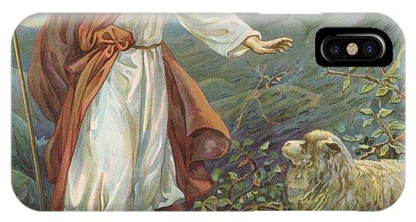 Jesus Christ The Tender Shepherd IPhone Case