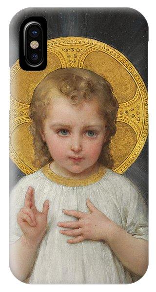 Messiah iPhone Case - Jesus by Emile Munier