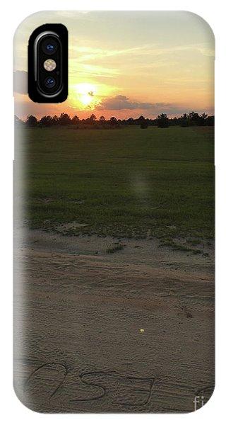 Jesus Healing Sunset IPhone Case