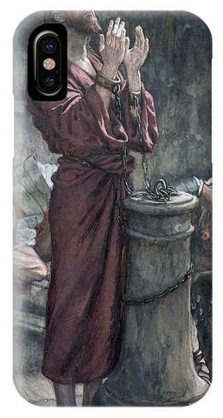 Jesus In Prison IPhone Case