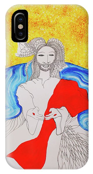 Jesus Messiah Second Coming IPhone Case