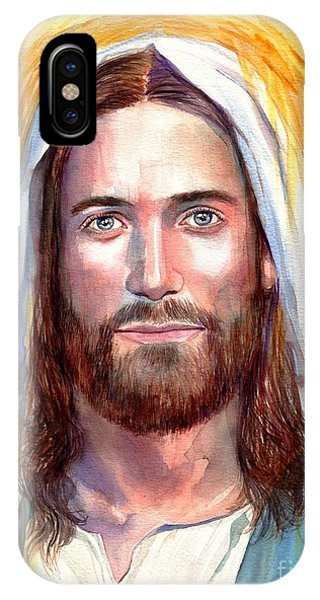 Messiah iPhone Case - Jesus Of Nazareth Painting by Suzann Sines