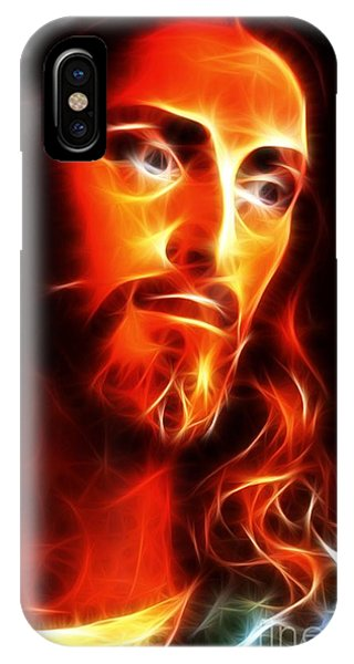 Spirituality iPhone Case - Jesus Thinking About You by Pamela Johnson