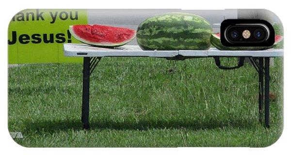 Jesus Watermelon IPhone Case