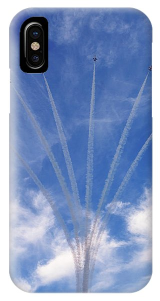 Jet Planes Formation In Sky IPhone Case