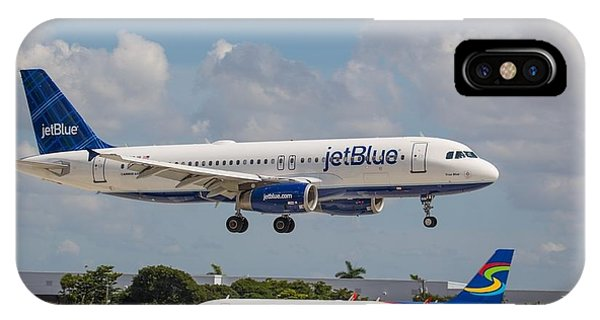 Jetblue Over Spirit Air IPhone Case