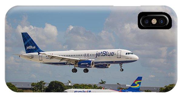 Jetblue Over Spirit IPhone Case