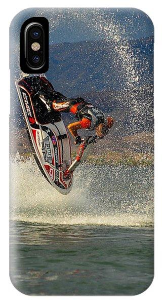 Jet Ski iPhone X Case - Jetski Flip by Joy McAdams
