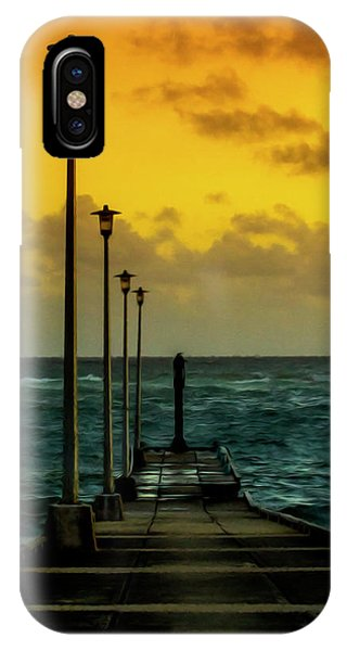 Jetty At Sunrise IPhone Case