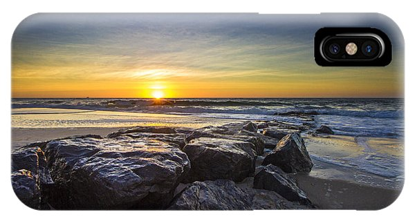 Jetty Four Sunrise IPhone Case