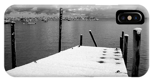 Jetty, Rhos-on-sea IPhone Case