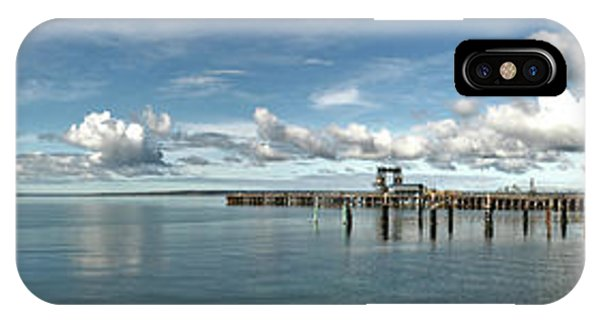 IPhone Case featuring the photograph Jetty To Shore by Stephen Mitchell
