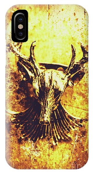 Stag iPhone Case - Jewel Deer Head Art by Jorgo Photography - Wall Art Gallery