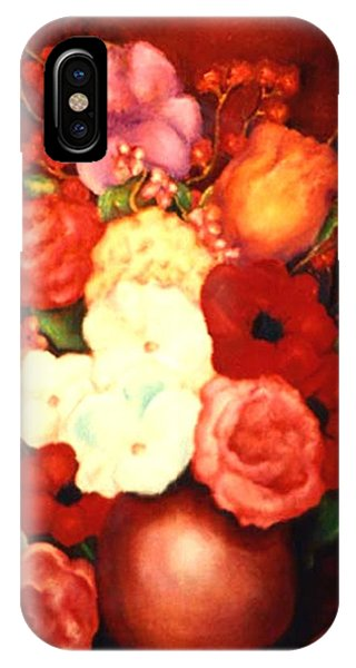 Jewel Flowers IPhone Case