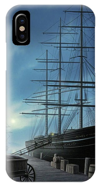 Moonlight iPhone Case - Jewel Of The North by Jerry LoFaro