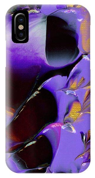 Jeweled Amethyst IPhone Case