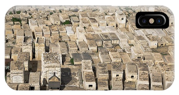 iPhone Case - Jewish Cemetery On Mount Of Olives by Steven Richman