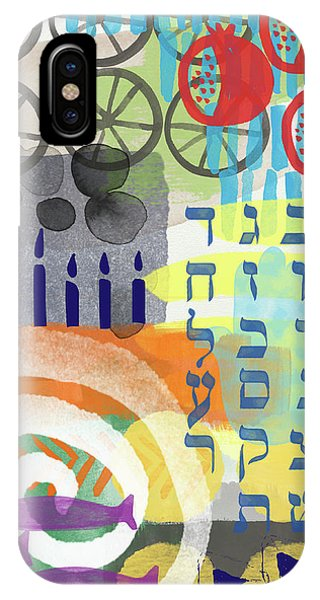 Wood iPhone Case - Jewish Life 1- Art By Linda Woods by Linda Woods