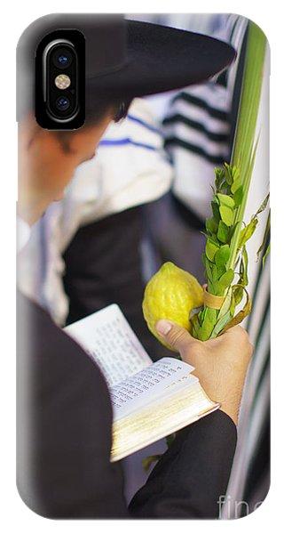 Jewish Sunrise Prayers At The Western Wall 1 IPhone Case