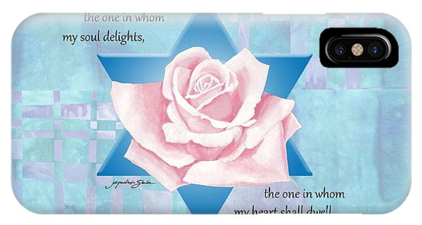 Jewish Wedding Blessing IPhone Case